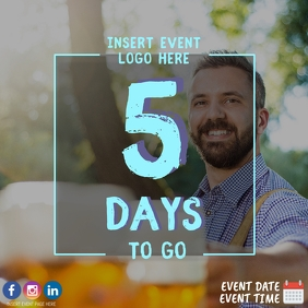 5 Days to Go Countdown to Oktoberfest Event
