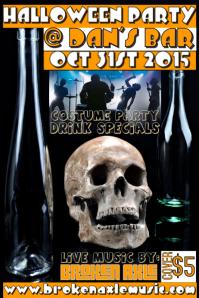 Halloween Concert/Gig Flyer