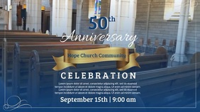 50th Anniversay Church Celebration Video Template
