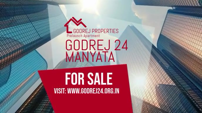 Godrej 24 Manyata Pre Launch North Bangalore 数字显示屏 (16:9) template