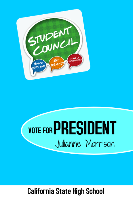 Student council president