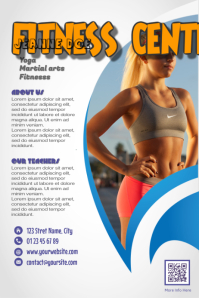 Fitness Gym Flyer - Amazing design