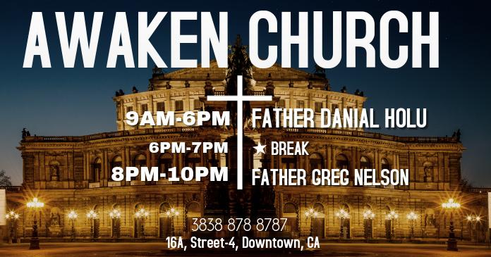 Church Facebook Image Template