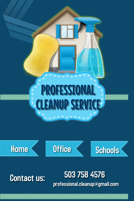 Professional cleanup service