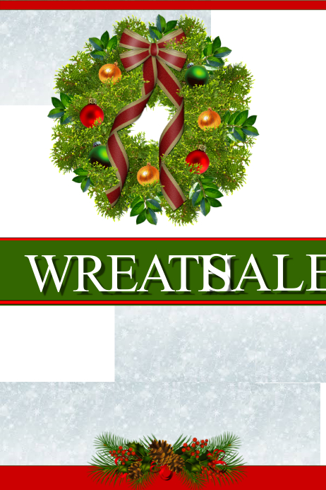 WREATH SALE