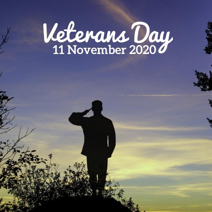 57 Veterans Day Instagram-opslag template