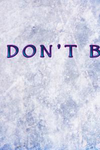 Don\'t Blink