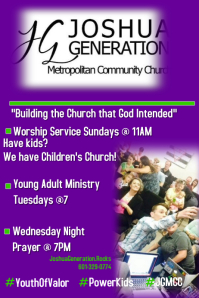 Ministry Flyer Template