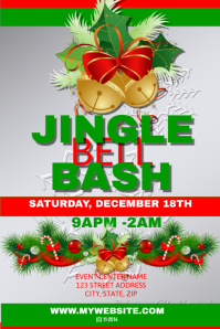 Jingle Bell Bash Event Template