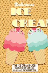 28 280 Customizable Design Templates For Ice Cream Flyer