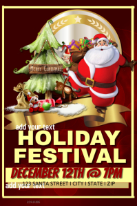 Holiday Festival Event Template