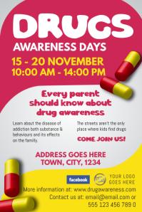 Drug Awareness Poster Template