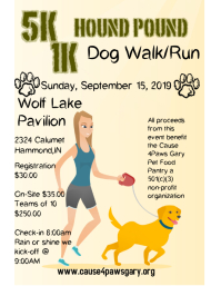 5k Dog Walk/Run