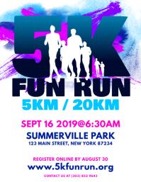 5K Fun Run Flyer