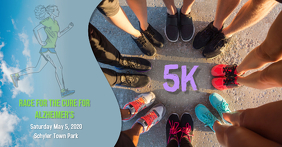 5k Race Run Benefit Fundraiser Walk Facebook Post