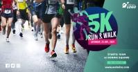 5K Run & Walk Event template