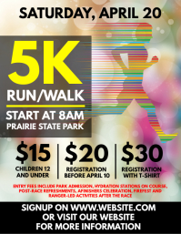 walk a thon flyer templates