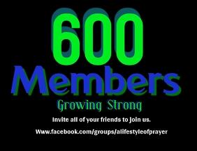 600 Members