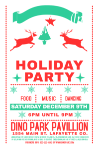 Vintage Holiday Party