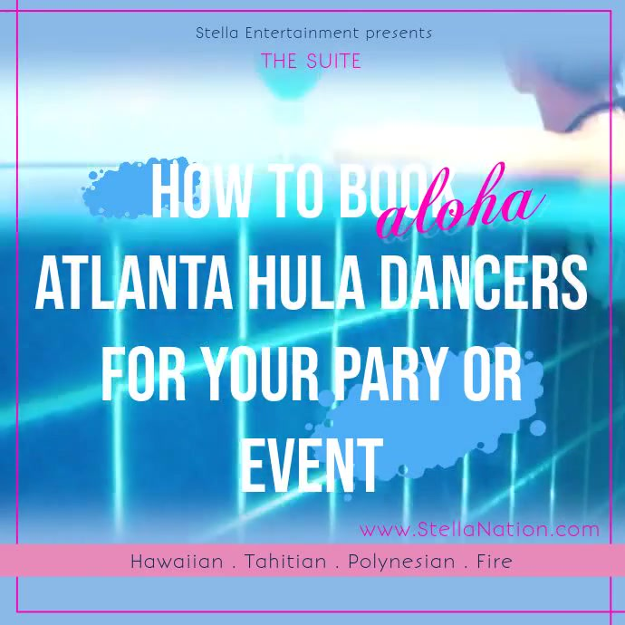 How to Book Aloha Atlanta Hula Dancers for your Party or Event