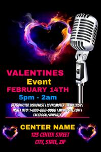 Valentines Event Template