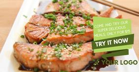 Food Facebook Ad Template