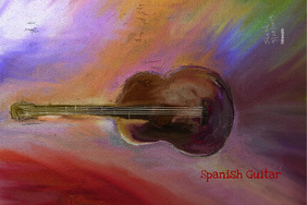 Spanish Guitar-Music event Poster
