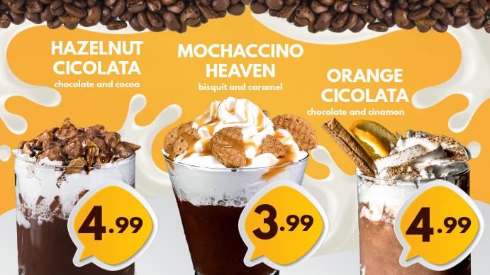 Coffee Digital Menu Template