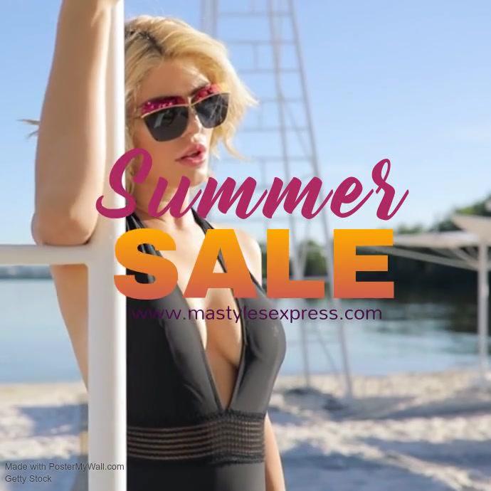 MASTYLES Summer sale video