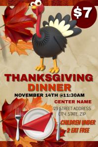 Thanksgiving Dinner Event