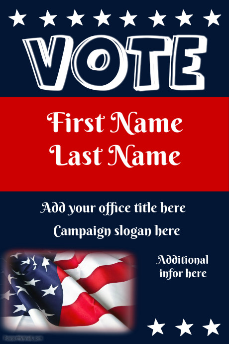 campaign flyers customize template