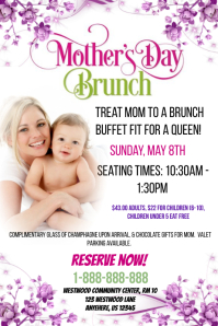 Mother\'s Day Brunch Event Template