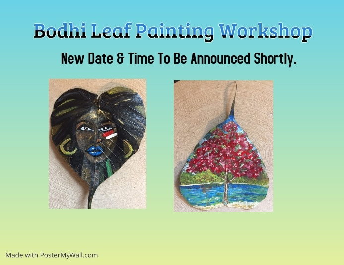 Swig of Color Bodhi Painting Flyer