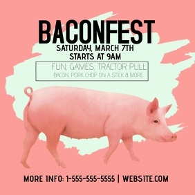 Bacon Fest Event Template