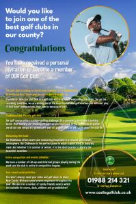 Golf Club Flyer