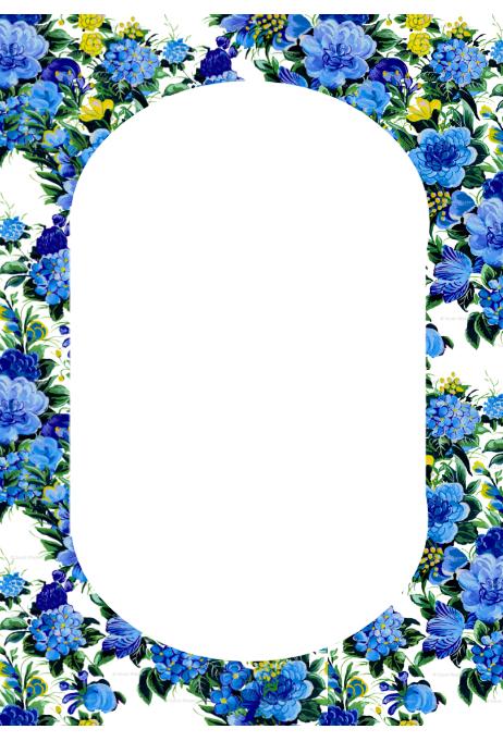 Floral โปสเตอร์ template