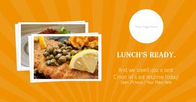 Restaurant Facebook Ad Template