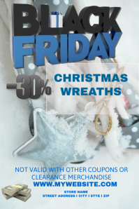 Black Friday Christmas Wreath Sales Event