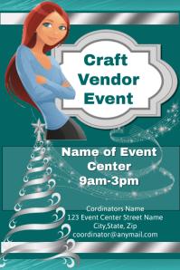 Christmas Craft Vendor Event Template