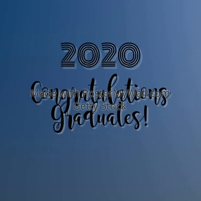 Copy of 2020 Graduation