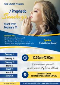 7 Prophetic sundays Poster