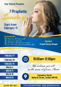 7 Prophetic sundays Poster