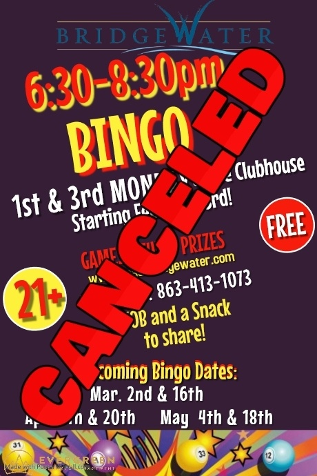 Copy of Bingo Poster