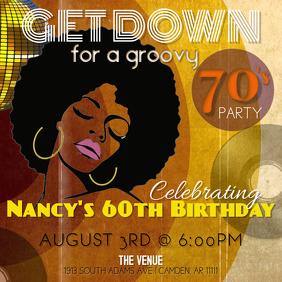 70s Birthday Party