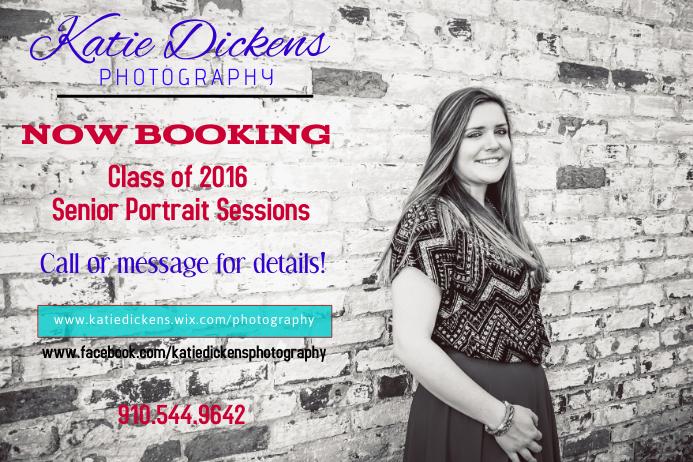 Senior Portrait Session Photography Flyer