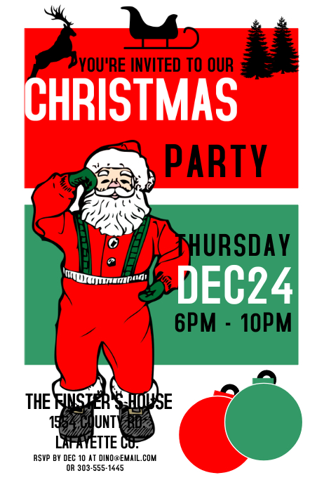 Vintage Christmas Party