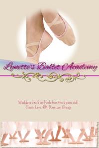 Ballet Academy Flyer