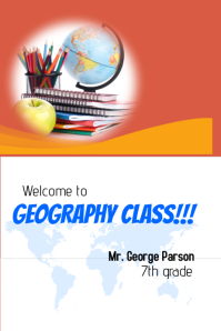 Geography Class