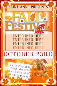Fall Poster Templates | PosterMyWall