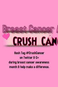 Crush Cancer: Breast Cancer Awareness